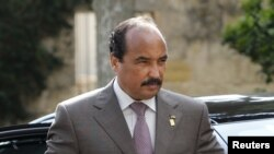 Tổng thống Mauritania Mohamed Ould Abdel Aziz