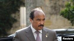 Presiden Mauritania Mohamed Ould Abdel Aziz kembali ke tanah air pasca pengobatan luka tembak di Perancis, Sabtu (24/11) (Foto: dok).