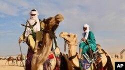 Festival touareg à Iferouane au Niger, le 18 février 218