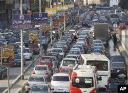 La circulation routière a repris au Caire