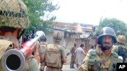 پاکستانی سکیورٹی فورسز دیر میں حکومتی عملداری بحال کراچکی ہیں