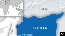 Syrian Security Forces Fire on Opposition Protesters