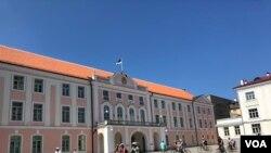 Здание парламента Эстонии - Рийгикогу