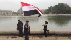 Egypian-Americans Protest in DC for Fellow Coptic Christians