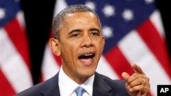 Presiden Amerika Barack Obama kembali menghimbau Kongres untuk mencapai kesepakatan terkait sequester (Foto: dok).