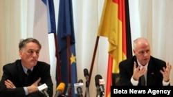Ambasadori Nemacke i Francuske Hajnc Vilhelm i Fransoa-Gzavije Denio