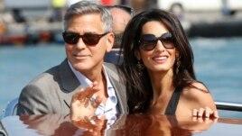 Dasma e George Clooney-t në Itali
