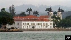 Aspecto da Cidade de São Tomé