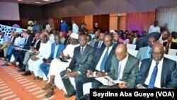 Cérémonie du lancement d'Akilee à Dakar, Sénégal, 23 août 2017. (VOA/Seydina Aba Gueye)