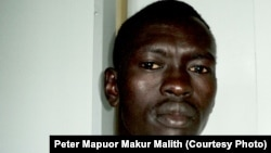 Good News Radio program manager Peter Mapuor Makur Malith was suspended after the radio station was shut down for three days.