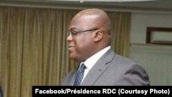 Président Félix Tshisekdi na Cité ya Union africaine, Kinshasa, 25 juillet 2019. (Facebook/Présidence RDC)