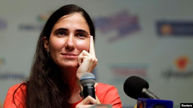 """""""Quiero que termine el embargo para ver como el gobierno cubano va a explicar su fracaso"""", dijo Sánchez."""