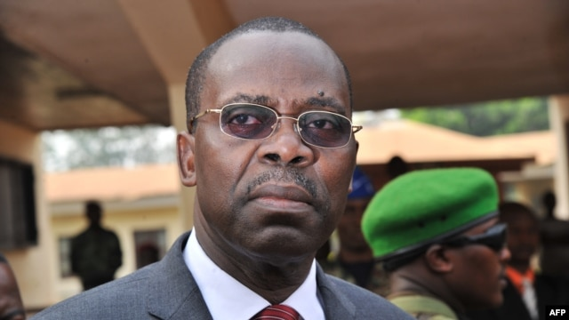 FILE - Central African Republic Prime Minister Andre Nzapayeke.
