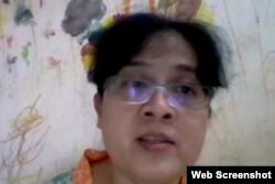 Sekjen Koalisi Perempuan Indonesia, Mike Verawati Tangk. (Foto: Screenshot)