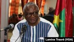 Le maire de Ouagadougou Armand Béouindé à Ouagadougou, Burkina, le 7 mai 2019. (VOA/Lamine Traoré)