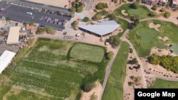 Sân gôn TPC Scottsdale Champions, bang Arizona, nơi xảy ra tai nạn máy bay.