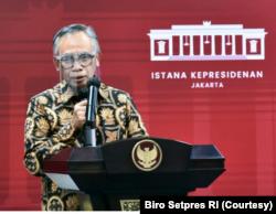 Ketua Dewan Komisioner OJK Wimboh Santoso mengatakan ekonomi digital bisa menjadi penopang kuat perekonomian Indonesia. (Foto: Courtesy/Biro Pers)