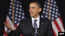 Tổng thống Hoa Kỳ Barack Obama phác thảo kế hoạch chống thâm hụt ngân sách tại Đại học George Washington ở Washington, ngày 13/4/2011