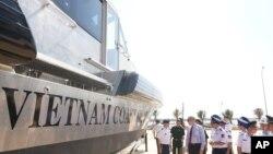 Mỹ tặng Việt Nam nhiều tàu thuyền tuần tra trong những năm qua