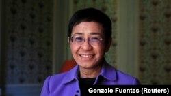 ဖိလစ္ပိုင္ သတင္းသမား Maria Ressa