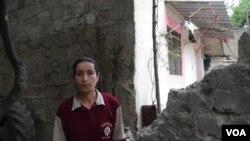 Hemwelatîya Cindirêsê ku xanîyê wê zîyan dîtiye