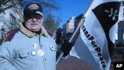 Vietnam Veteran Bill Steyert came from New York