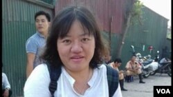 Nhà hoạt động Phạm Đoan Trang.