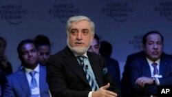Afg'oniston hukumati raisi Abdulla Abdulla