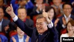 «مون جا این» کاندیدای پیشتاز انتخابات ریاست جمهوری کره جنوبی