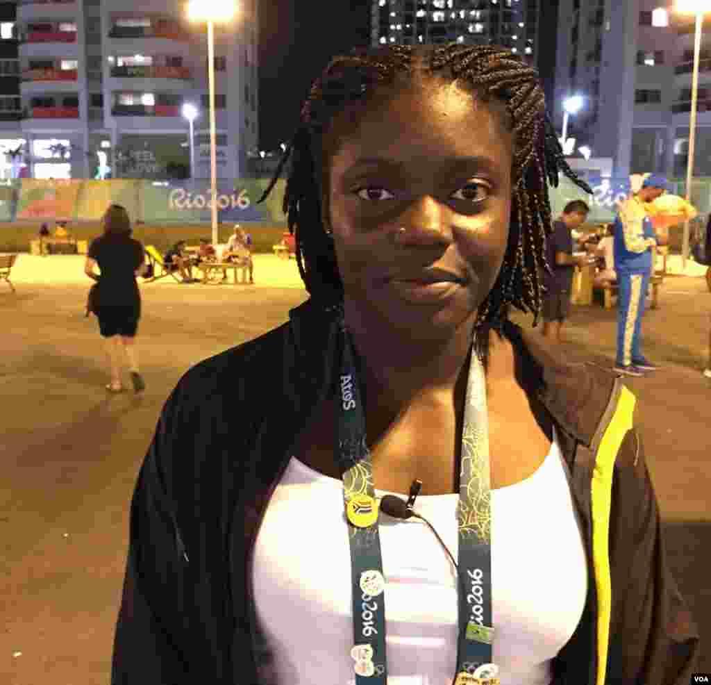 Jessica Inchude da Guiné-Bissau