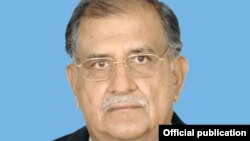 FILE - Riaz Hussain Pirzada, Federal Minister for Inter-provincial Coordination, Pakistan.