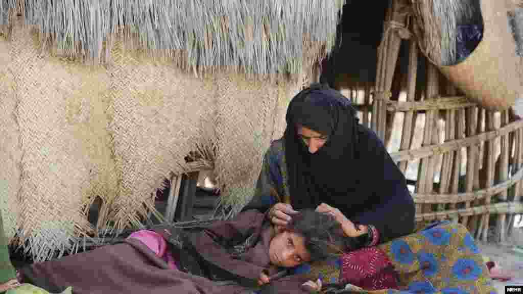 زندگی پر درد در روستا های گوا و سلیمانی در جاسک. هرمزگان. عکس: خبرگزاری مهر