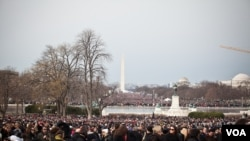 Views around the U.S. Capitol on Inauguration Day