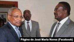 "José Maria Neves e Fernando dos Santos ""Nandó"""
