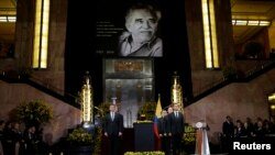 Ceremonies Honoring the Passing of Colombian Author Gabriel Garcia Marquez