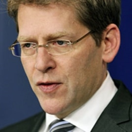 White House Press Secretary Jay Carney speaks during his daily briefing, Jan. 23, 2012, in Washington