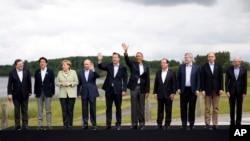 Britain Northern Ireland G-8 Summit