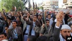 'Yan Tawayen Houthi kasar Yemen