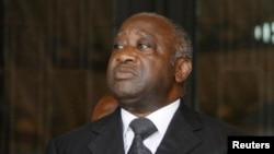 L'ex-président ivoirien Laurent Gbagbo, 29 mars 2009