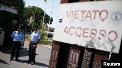 Sede del Departamento de Justicia en donde permanecen los detenidos, incluyendo al clérigo Nunzio Scarano.