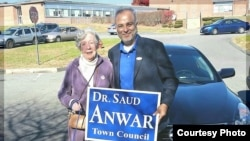 Saud Anwar, Walikota South Windsor, Connecticut.
