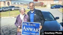 Saud Anwar, Walikota South Windsor, Connecticut.