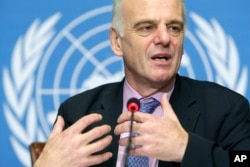 David Nabarro, seen in this file photo, is currently serving as Special Adviser to the U.N. Secretary-General on the 2030 Agenda for Sustainable Development and Climate Change.