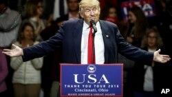 Al igual que lo hizo durante gran parte de su campaña, leyó su discurso de un teleprompter, pero fue espectacular como siempre.
