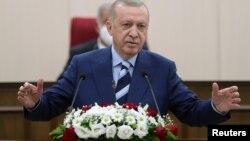 Cumhurbaşkanı Recep Tayyip Erdoğan, 19 Temmuz günü KKTC meclisine hitaben bir konuşma yaptı.