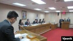 台湾立法院 (美国之音张永泰拍摄)