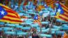 تظاهرات طرفداران استقلال کاتالونیا