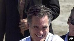 美國共和黨總統參選人羅姆尼