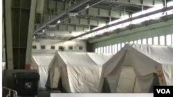 冷戰時期出名的一處德國機場現在正被用做為緊急收容難民的中心。