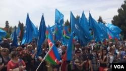 Müsavat Partiyasının bayraqları